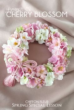59 Ideas For Birthday Flowers Arrangements Shabby Chic Easter Wreaths, Christmas Wreaths, Vintage Wreath, Diy Spring Wreath, Paper Flowers, Dried Flowers, Wedding Wreaths, Wreath Crafts, How To Make Wreaths
