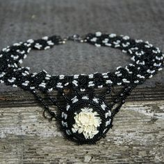 Beautiful pendant choker necklace. Available on our shop.