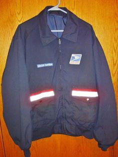USPS Postal Uniform Bomber Jacket (SKAGGS) 2XL LONG #fashion #clothing #shoes #accessories #uniformsworkclothing #jacketsvests #ad (ebay link) Vest Jacket, Bomber Jacket, Online Price, The North Face, Stylish, Link, Vests, Clothing, Jackets