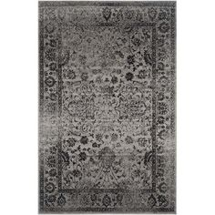 Safavieh Adirondack Grey Area Rug - 11' x 15' ($517) ❤ liked on Polyvore featuring home, rugs, grey, gray rug, safavieh, grey rug, safavieh area rugs and gray area rug