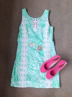 Easter dress lilly style