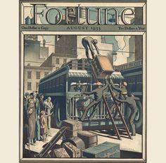 26.jpg (992×973) - Ernest H. Baker Cover Art - Fortune August 1933