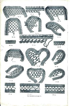 Lace Designs | Published April 7, 2011 at 903 × 1375 in Design – Paper, Textile 2 ...
