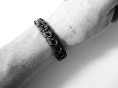 Bike Chain Spacers Bracelet  by TheRecycledBicycle
