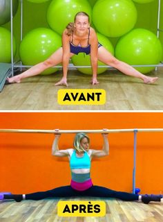Ces 6exercices t'aideront àpouvoir réaliser rapidement cegrand écart dont tuasrêvé toute tavie Strength Training For Beginners, Strength Training Workouts, Flexibility Workout, Work Out Routines Gym, Gym Routine, At Home Workouts, Weight Training Schedule, Yoga Fitness, Health Fitness