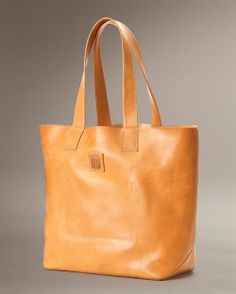 love this Frye leather tote...