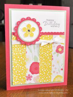 All Abloom Birthday Card - Card Creations by Beth
