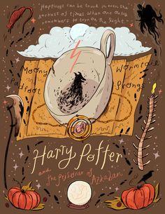 Harry Potter and the Prosoner of Azkaban illustration -[Natalie Andrewson]