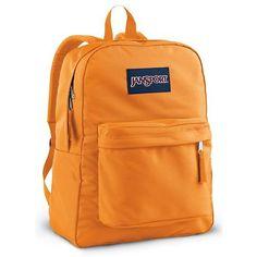 JanSport Classics Series Superbreak Backpack (Orange Team) - http://activelifeessentials.com/outdoor-activities/backpacks/jansport-classics-series-superbreak-backpack-orange-team/