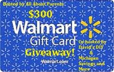 Mommy on the Money: Giveaway - $300 Walmart Gift Card
