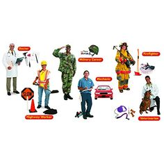 Trend Enterprises Community Helpers Bulletin Board Set T8143 -- Check out this great product.