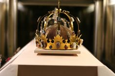 charlemagne's crown at the louvre you are a direct descendant so must have a selfie with this