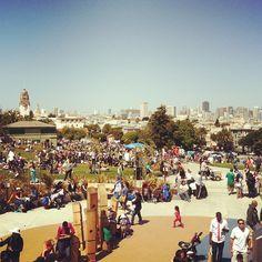 Cinco de Mayo in Delores Park #sanfrancisco