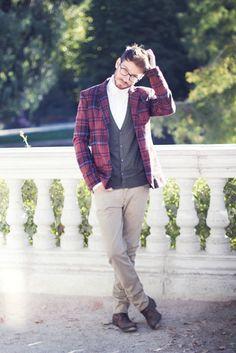 316aa6f2d1a4 Plaid blazer fashion men plaid mens fashion fashion and style mens clothing  guys fashion plaid blazer