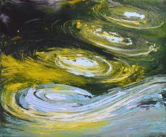 Kręgi na wodzie III - 50 x 60 oil