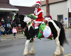 Lexington Michigan Old Fashioned Christmas Horse parade