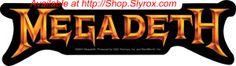 Megadeth - Peace Sells Sticker