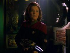 "Star Trek Voyager - Episode ""Dark Frontier II"" (Captain Kathryn Janeway)."