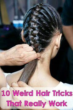 10 weird hair tricks that really work!