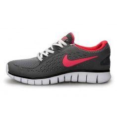 Nike Free Run Plus Women's running Shoes- Black/Rose/White --- for the marathon? yes. please!