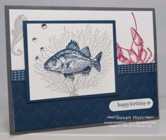 By The Tide,  SUO, Stampin Up, susanstamps.wordpress.com