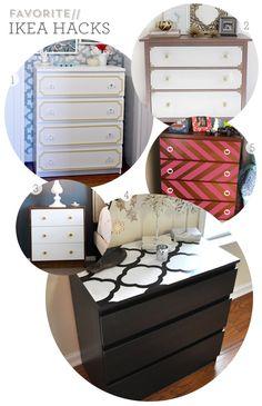 Sarah Hearts   Favorite Ikea Dresser Hacks