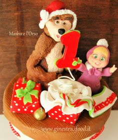 Masha and the bear, for first birthday in Christmas time what do you think?