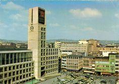 City Hall (1952-56) in Stuttgart, Germany, by Hans Paul Schmohl & Paul Stohrer