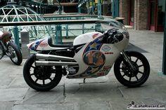Harley Davidson #13 at at the London BIkeshed #BikeShedLondon2015 #HarleyDavidson