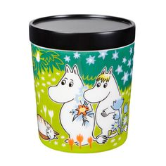 Moomin jar M, Tove's jubilee, by Arabia. Moomin Shop, Tove Jansson, Scandinavian Living, Marimekko, Nordic Design, Cool Toys, Funny Cute, Color Patterns, Tableware