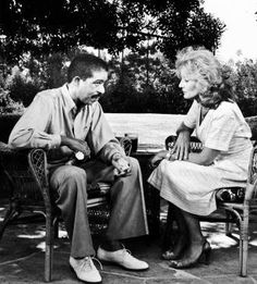 """Pryor taunting Barbara Walters during an interview, asking her to say """"nigger"""" to his face, assuring her that the word comes easily to any white person. When Walters replied that she could never utter such a thing, Pryor smiled and said, """"Sure you can. Famous Comedians, In Memorium, Barbara Walters, Richard Pryor, Jean Simmons, Black Comics, Rock Hudson, Stand Up Comedians, I Love Lucy"""