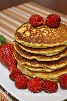 Más allá del gluten...: Panqueques de Harina de Arroz (Receta GFCFSF)