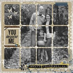 "Template: Lori Whitlock - Life Template Series Kit:  Shawna Clingerman's kit, ""Creative Bliss"""