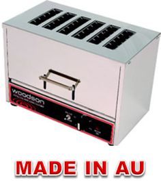 Commercial Toaster - Woodson WTOV6 Vertical Toaster - www.hoskit.com.au- Kitchen & Catering Equipment