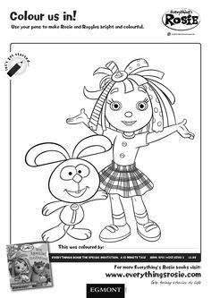 everythings rosie coloring book pages - photo#10