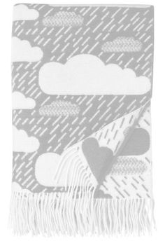 Rainy Day Wool Throw / donna wilson
