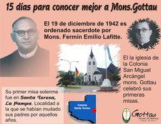 19 de diciembre de 1942 es ordenado sacerdote