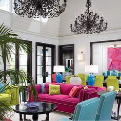 Color block decoration design