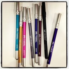 Urban Decay 24/7 Glide-On Eye Pencils.