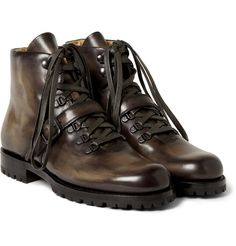 Berluti - Brunico Venezia Leather Boots | MR PORTER