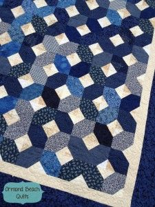 A Charmed Life- a quilt pattern from Ormond Beach Quilts!  This pattern comes in two sizes- lap or queen!