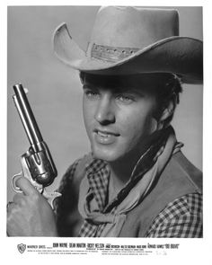 Ricky Nelson in a publicity still for Rio Bravo