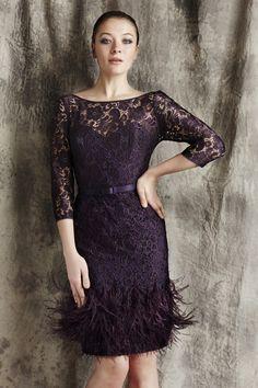 c47189c1ab Purchase Theia at Veronica Di Santo Atelier. Elegant Cocktail Dress