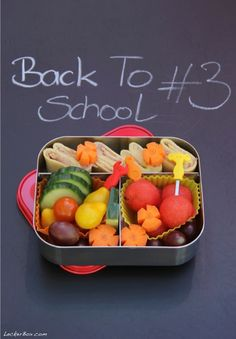 LeckerBox goes Back to School: PausenBox #3