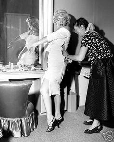 An Ode To Ceil Chapman - The Female Dress Engineer - One Of Marilyn Monroe's Favorite Dress Designers...click picture to read her story!