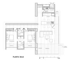 Image 10 of 22 from gallery of Malinalco House / Arquitectura Alternativa. Plan
