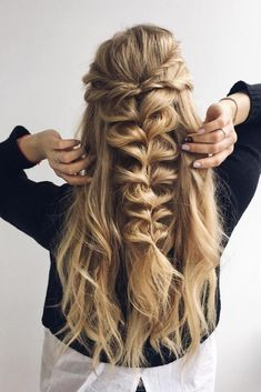 Braided Hairstyles for Every Hair Type ★ See more: http://lovehairstyles.com/braided-hairstyles-every-hair-type/ #homecominghairstyles