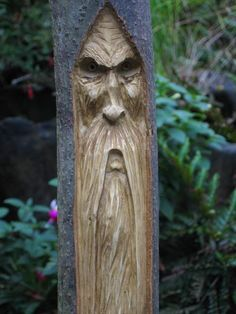 my take on a woodspirit carving tutorial