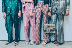 Tommy Ton - GUCCI MEN'S SPRING/SUMMER 2016