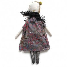 handmade rag doll - jess brown
